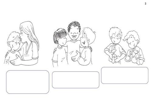 NiÑos Y Deberes Para Colorear: INFANTIL